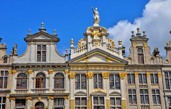 Belgium, picturesque Grand Place of  Brussels