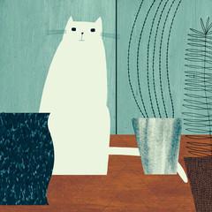 Illustration of cat