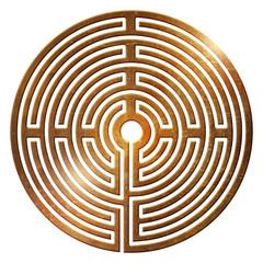 labyrinth spiral life way center fate ur symbol dead end