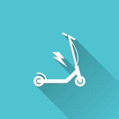 Electric Scooter Icon