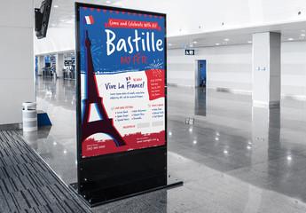 Bastille Day Event Poster