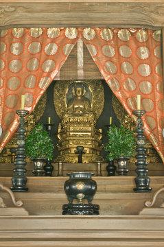 Great Buddha Hall Altar