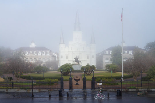 Catholic Cathedral and Gated Grounds
