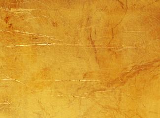 Fototapete - gold foil texture background