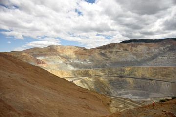 Giant copper mine