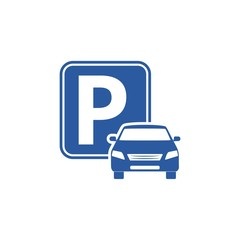 Logo parking, Parking Icon, Parking Road Sign