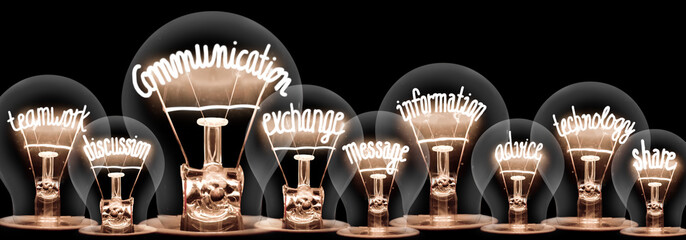 Light Bulbs Concept - fototapety na wymiar