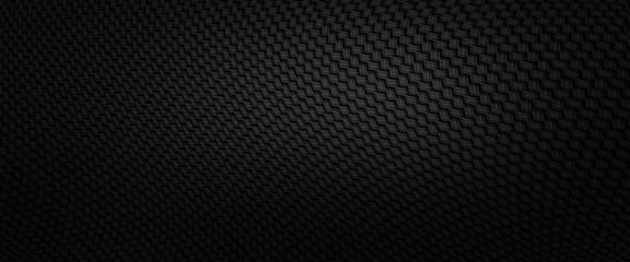 Fototapete - Carbon fiber texture for background