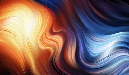 Vector Modern colorful flow background. Wave color Liquid shape. Abstract design.