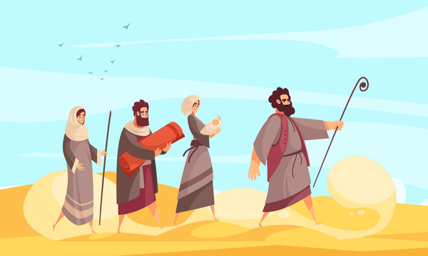 Bible Narratives Moses Composition