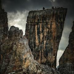 Point de vue sur un des pics des Cinque Torri