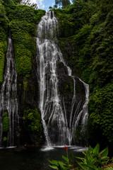 Beautiful waterfall in Bali, Indonesia.
