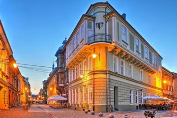 Street scene, Timisoara, Romania
