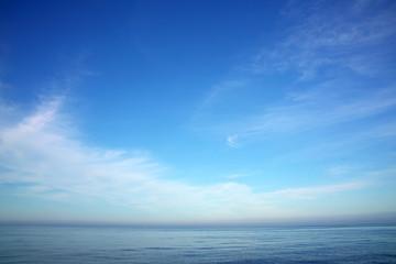 푸른 하늘 Fotobehang