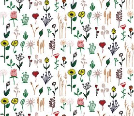 Country Seamless Pattern