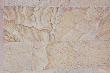 Spoed Foto op Canvas Wereldkaart Beige marble stone texture marmoreal background.