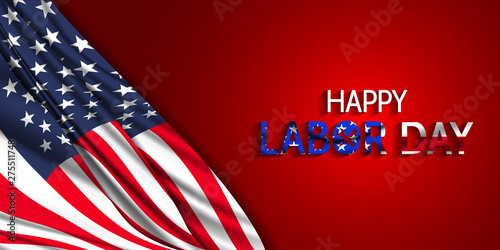 Happy Labor Day 2019 Labor Day America Stock Image And Royalty