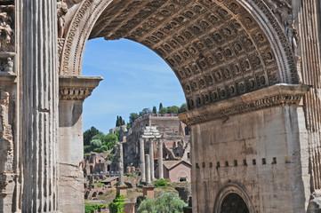 Roma, le rovine dei Fori imperiali