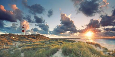 Foto auf AluDibond Nordsee auf der Insel Sylt