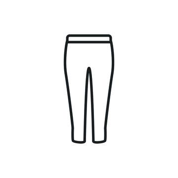 sport pants vector icon