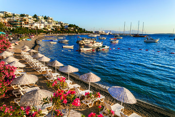 Bodrum, Turkey -  summer holidays. great beaches of old town