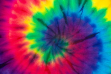 30047ffd Tie Dye spiral rainbow color , abstract texture and background , reggae  style .