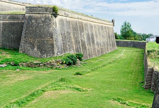 Bastion de la citadelle à Blaye