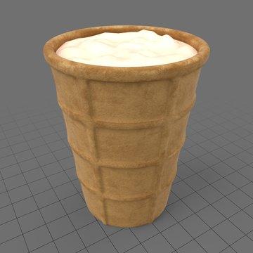 Ice cream cone 1