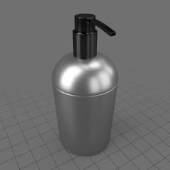 Metal soap dispenser