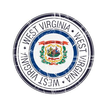 West Virginia rubber stamp