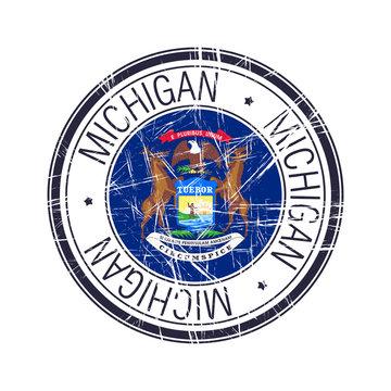Michigan rubber stamp