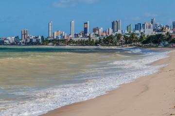 Foto op Canvas Abu Dhabi Beach in Joao Pessoa, Brazil