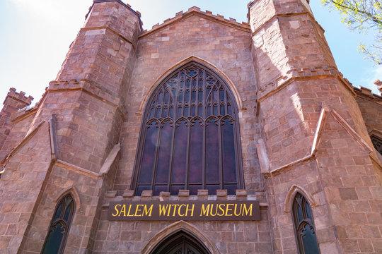 Salem Witch Museum, Salem Masachusetts