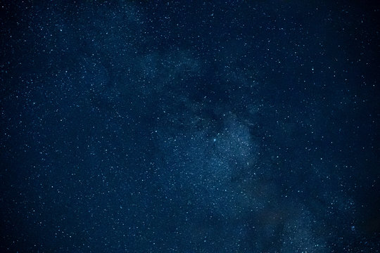 Stars and galaxies with views of night sky