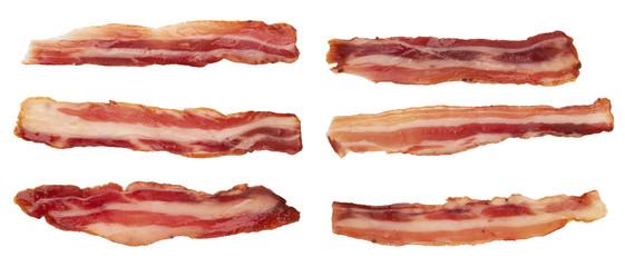 bacon on white