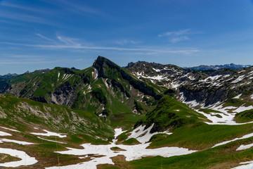 Oberstdorf Berge Alpen Panorama Wandern