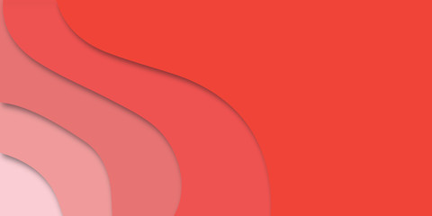 Red abstract background for vector banner web.