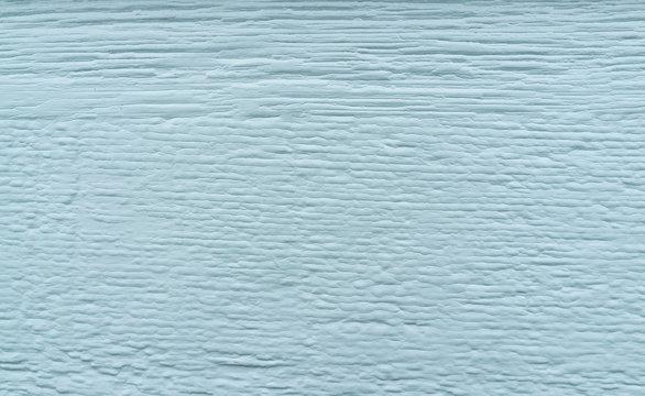Blau lackiertes Holz