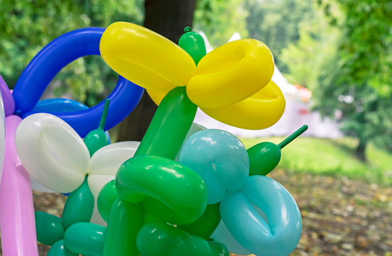 Balloons for twisting and modeling various figures. Long balloons for twisting.