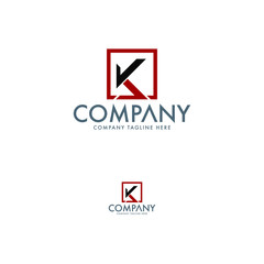 Modern Letter K Logo Template