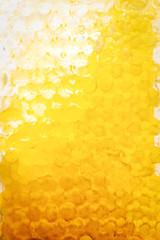 honeycomb yellow background