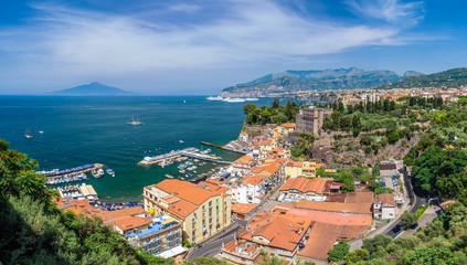 Wall Mural - Landscape with Sorrento, amalfi coast, Italy