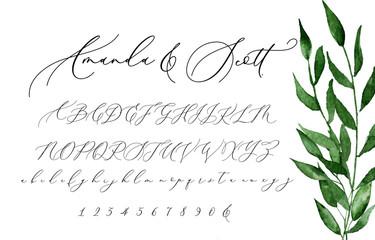 Invitation Script Font Typeface