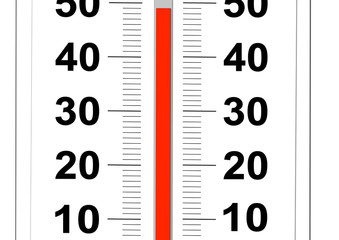 thermometre 50 degres