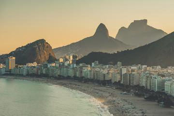 Wall Mural - View of Copacabana Beach in Rio de Janeiro, Brazil