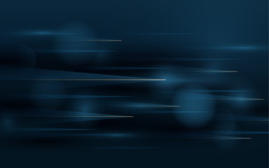 Wall Mural - Abstract technology hi tech futuristic background. Speed motion movement concept