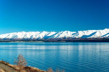 Lake Pukaki Look Out,South Island New Zealand