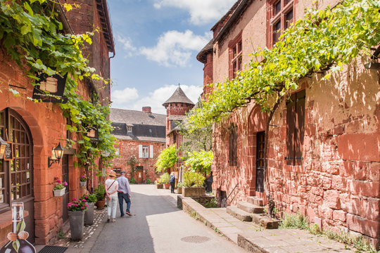 Collonge la Rouge, one of the most beautiful villages of France