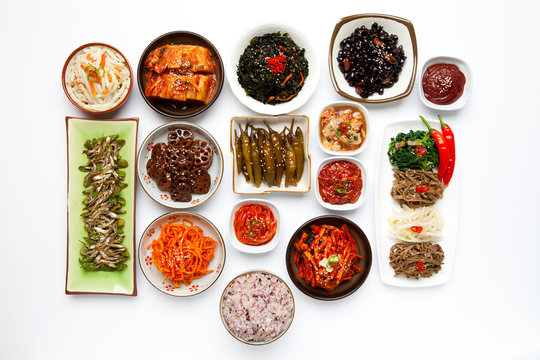 Korean traditional side dish.