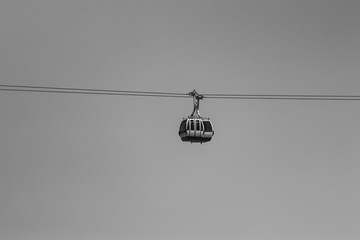 Cable car in Lisbon Portugal Wall mural